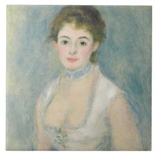 Pierre A Renoir | Madame Henriot Tile