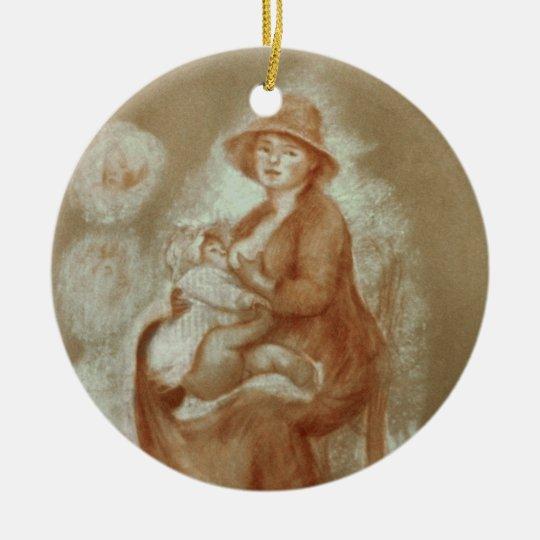 Pierre A Renoir | Maternity Ceramic Ornament