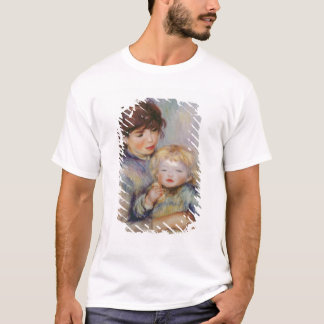 Pierre A Renoir | Maternity, Child with a biscuit T-Shirt