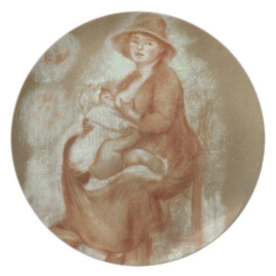 Pierre A Renoir | Maternity Dinner Plate