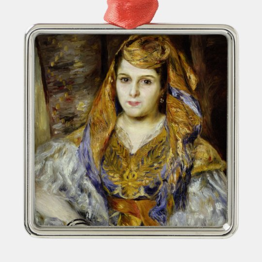 Pierre A Renoir | Mme. C. Stora in Algerian Dress Metal Ornament