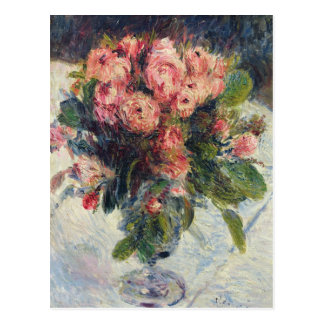 Pierre A Renoir | Moss-Roses Postcard