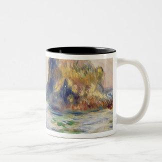 Pierre A Renoir | Moulin Huet Bay, Guernsey Two-Tone Coffee Mug