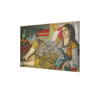 Pierre A Renoir | Olympia, 1863 Canvas Print