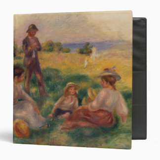Pierre A Renoir | Party in the Country at Berneval 3 Ring Binder