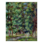 Pierre A Renoir | Path in a Wood Poster