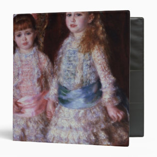 Pierre A Renoir | Pink and Blue 3 Ring Binder