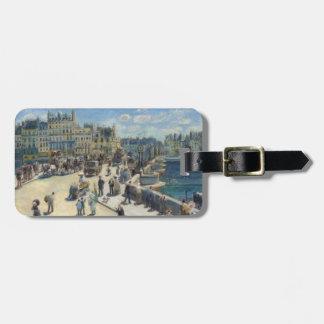 Pierre A Renoir | Pont Neuf, Paris Bag Tag
