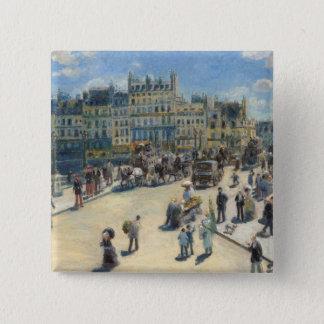 Pierre A Renoir | Pont Neuf, Paris Pinback Button