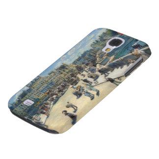 Pierre A Renoir   Pont Neuf, Paris Samsung Galaxy S4 Case