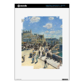 Pierre A Renoir | Pont Neuf, Paris Skins For iPad 3