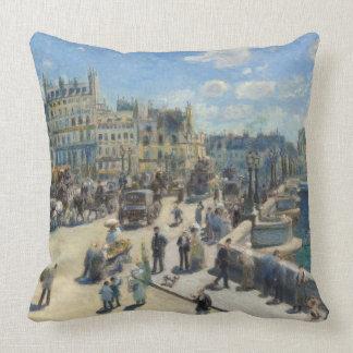 Pierre A Renoir   Pont Neuf, Paris Throw Pillow