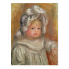 Pierre A Renoir | Portrait of a Child Postcard