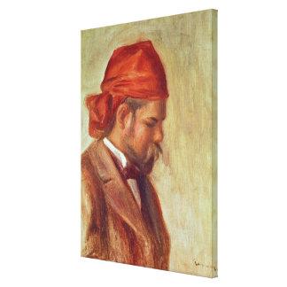 Pierre A Renoir   Portrait of Ambroise Vollard Canvas Print