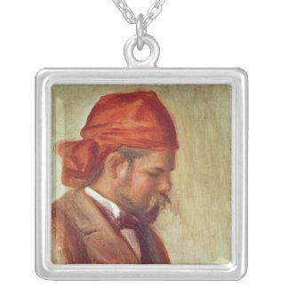 Pierre A Renoir | Portrait of Ambroise Vollard Silver Plated Necklace