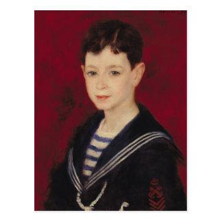Pierre A Renoir   Portrait of Fernand Halphen Postcard