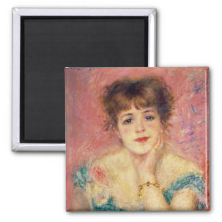 Pierre A Renoir | Portrait of Jeanne Samary Magnet