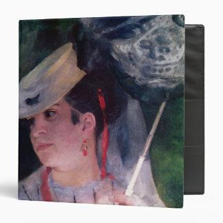 Pierre A Renoir | Portrait of Lise Binder