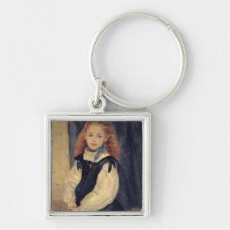 Pierre A Renoir | Portrait of Mademoiselle Legrand Keychain