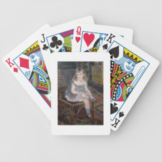 Pierre A Renoir   Portrait of Mlle. G. Charpentier Bicycle Playing Cards