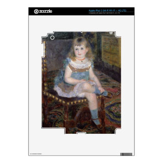 Pierre A Renoir | Portrait of Mlle. G. Charpentier Skin For iPad 3