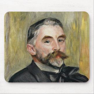 Pierre A Renoir   Portrait of Stephane Mallarme Mouse Pad