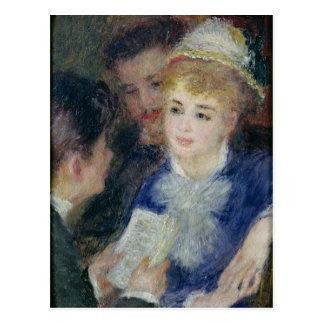 Pierre A Renoir | Reading the Role Postcard