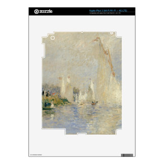Pierre A Renoir | Regatta at Argenteuil Decal For iPad 3