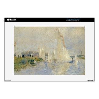 Pierre A Renoir | Regatta at Argenteuil Laptop Decal
