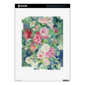 Pierre A Renoir | Roses 2 iPad 3 Decal