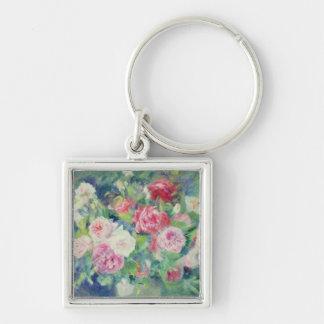 Pierre A Renoir | Roses 2 Keychain