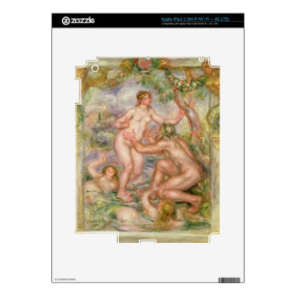 Pierre A Renoir | Saone flowing into the Rhone Decal For iPad 3