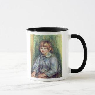 Pierre A Renoir   Seated Portrait of Claude Renoir Mug