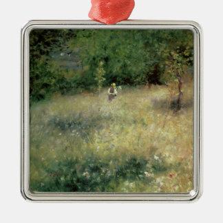 Pierre A Renoir | Spring at Chatou Metal Ornament