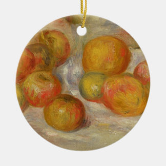 Pierre A Renoir | Still Life with Apples Ceramic Ornament