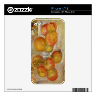 Pierre A Renoir | Still Life with Apples Decal For The iPhone 4S