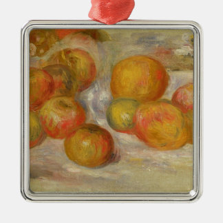 Pierre A Renoir | Still Life with Apples Metal Ornament