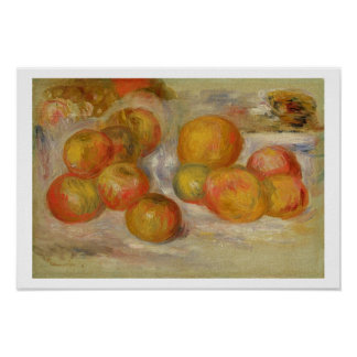 Pierre A Renoir | Still Life with Apples Poster