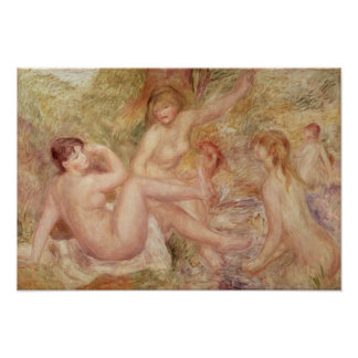 Pierre A Renoir | Study for the Large Bathers Poster