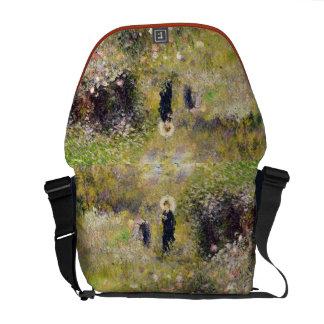 Pierre A Renoir | Summer Landscape Courier Bag
