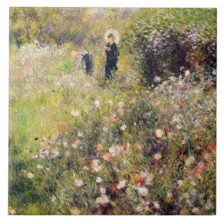 Pierre A Renoir | Summer Landscape Tile