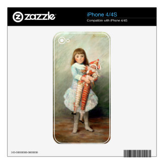 Pierre A Renoir | Suzanne Decal For The iPhone 4S