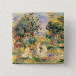 Pierre A Renoir | The Bathers Pinback Button