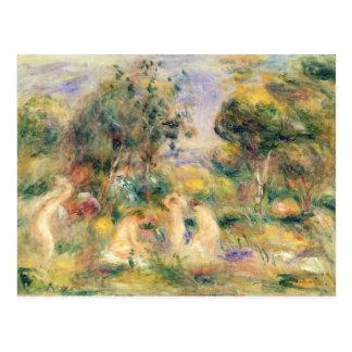 Pierre A Renoir | The Bathers Postcard