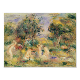 Pierre A Renoir | The Bathers Poster