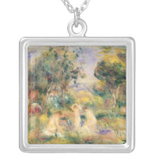 Pierre A Renoir | The Bathers Silver Plated Necklace