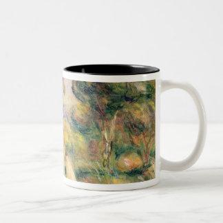 Pierre A Renoir | The Bathers Two-Tone Coffee Mug