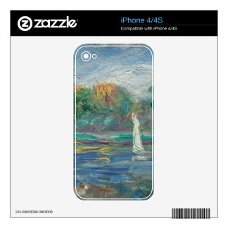 Pierre A Renoir | The Blue River Skins For The iPhone 4