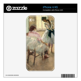 Pierre A Renoir | The Dance Lesson Decals For iPhone 4