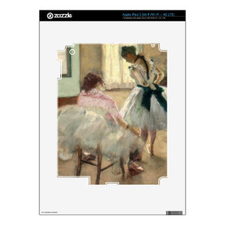 Pierre A Renoir | The Dance Lesson iPad 3 Decals